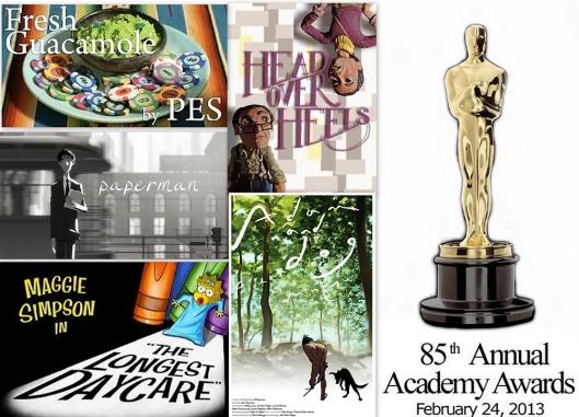 Cortometrajes de animación nominados al Premio Óscar