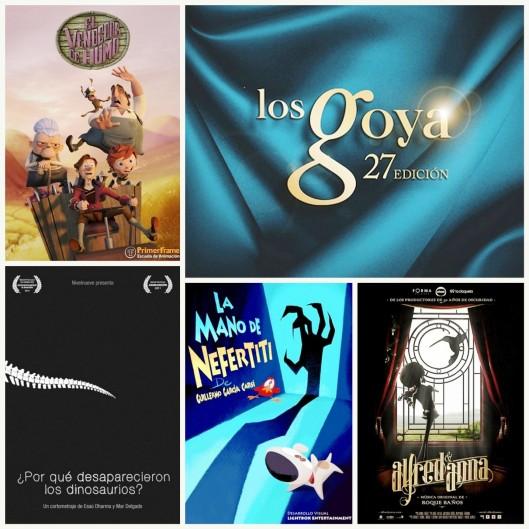 27ª edición Premios Goya-Cortos de animación nominados