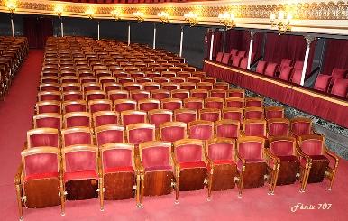Patio de butacas del Teatro Principal de Zaragoza-
