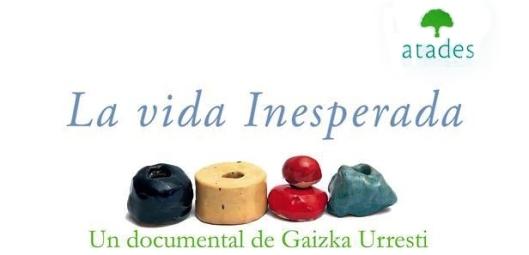 "Cartel del documental ""La vida inesperada"""