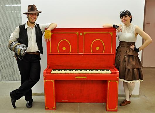 EuroSteamCon Zaragoza - Pablo y María