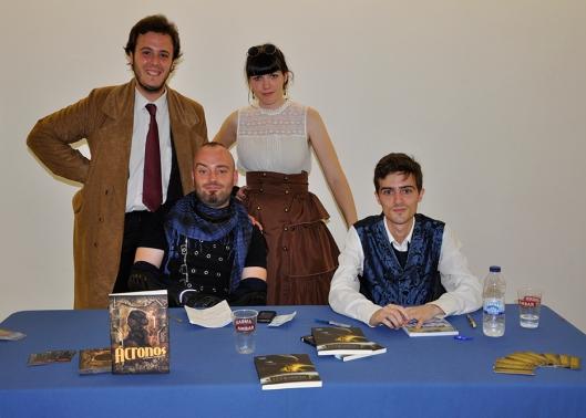 EuroSteamPunk 2013 - Pablo, María, Armando y Josué