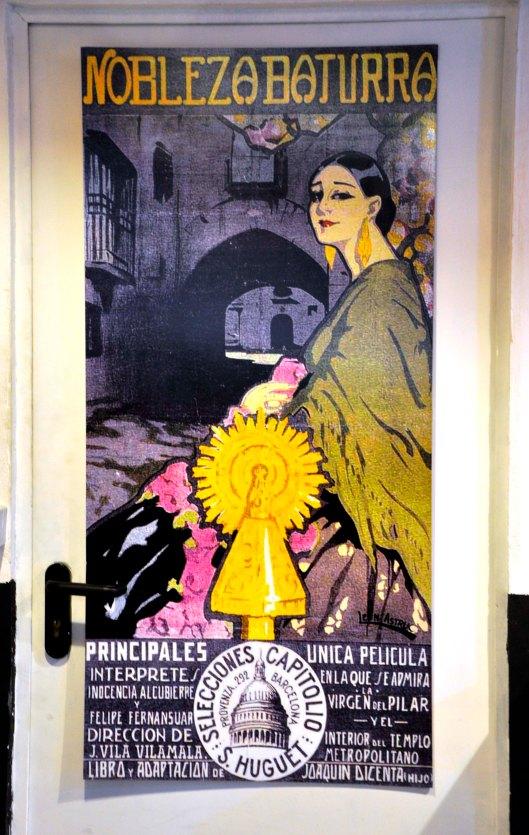 Jornadas Cine Mudo Uncastillo - Inocencia Alcubierre - Nobleza Baturra - Cartel en Tierra Maña