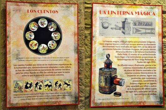Jornadas Cine Mudo Uncastillo - Exposición Cuentos en la Linterna Mágica - Foto AtmósferaCine