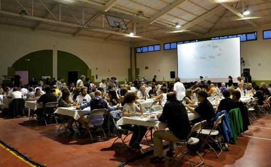 Jornadas Cine Mudo Uncastillo - Cena con cine en el Pabellón municipal