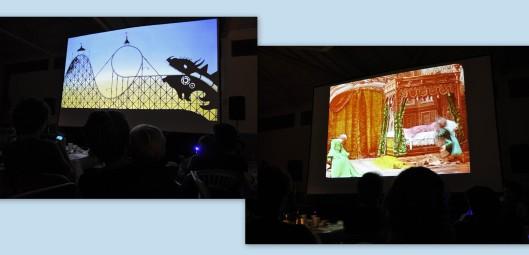 Jornadas Cine Mudo Uncastillo - Cena en el cine - Foto AtmósferaCine