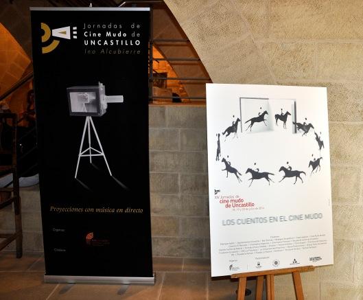 Jornadas Cine Mudo Uncastillo - Cartel XIV edición 2014 y cartel general - AtmósferaCine