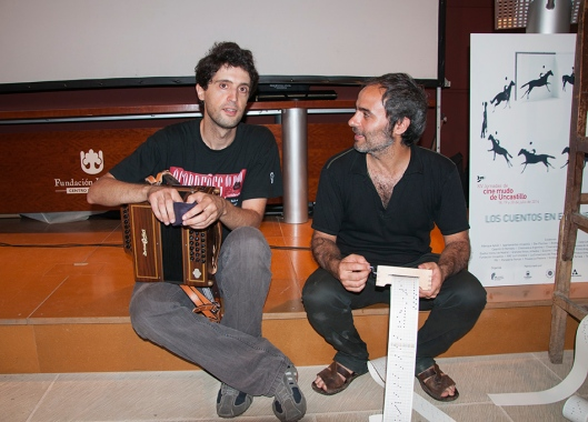 Jornadas Cine Mudo Uncastillo - Músicos Ignacio Alfayé, Ignacio Plaza- AtmósferaCine