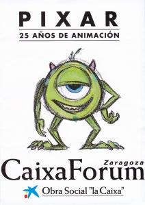 Pixar-Exposición CaixaForum Zaragoza-Portada
