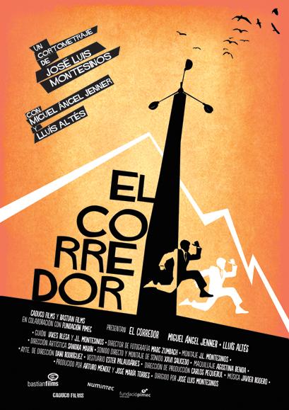 El Corredor- Cartel - José Luis Montesinos - Seminci