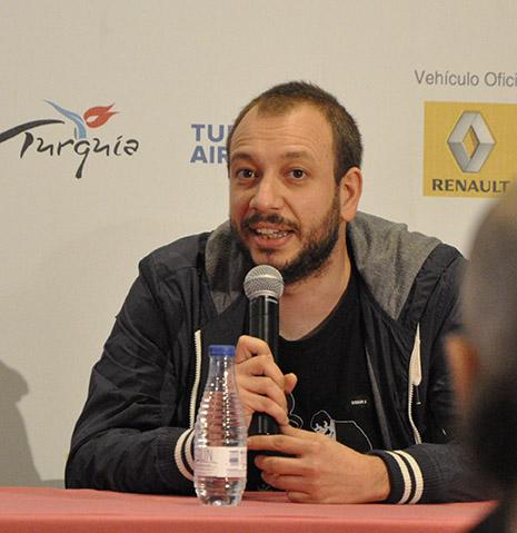 José Luis Montesinos -Director El corredor - Premio Mejor Corto 59 Seminci 2014 - AtmosferaCine