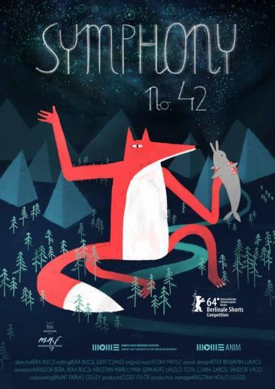Sinfonia 42-Symphony 42 - Reka Bucsi- Cartel - Poster - Seminci Espiga Oro Cortometraje