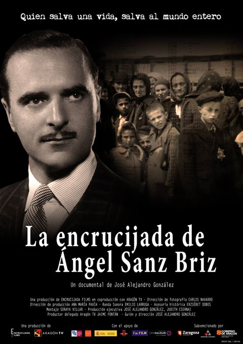 Cartel Encrucijada Ángel Sanz Briz- Documental