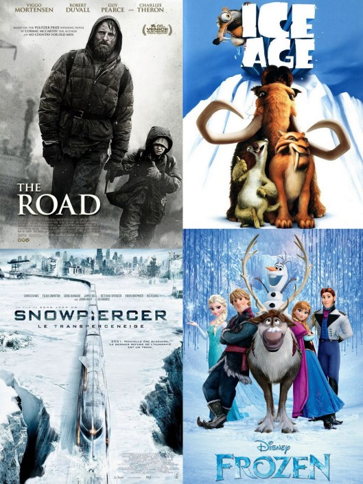 The Road - Frozen - Ice Age - Snowpiercer - Winter - Movies