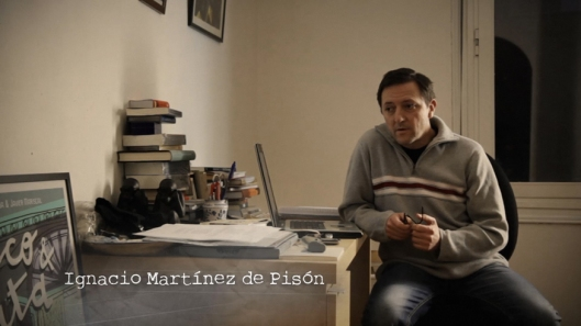 Corto Por que escribo, Felix Romeo - Fotograma - Ignacio Martinez Pison