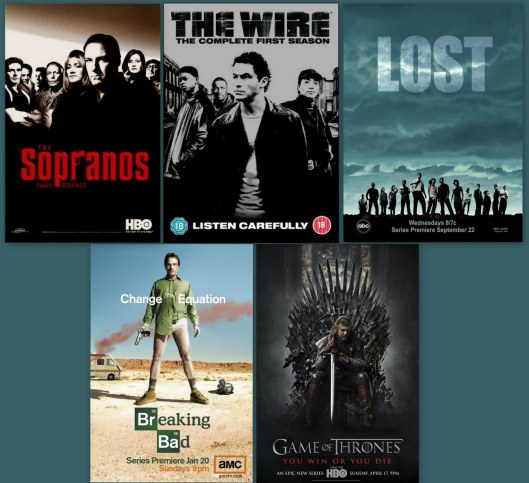 Series recomendadas Toni de la Torre - Soprano - Lost - The Wire - Breaking Bad - Game of thrones