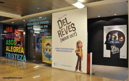 Inside Out - Del Reves - Pixar - Exposicion - Aragonia - AtmosferaCine