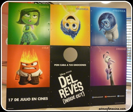 Photocall - Inside Out- Del Reves - Pixar - AtmosferaCine