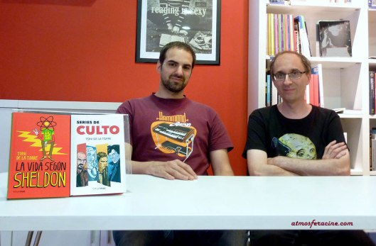 -Toni de la Torre y Sergio Guiral - Series de culto en La Ventana Indiscreta - AtmosferaCine