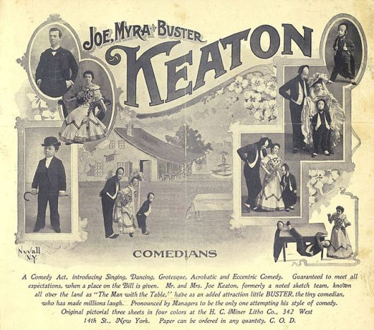 Joe_Myra_and_Buster_Keaton_advertisement