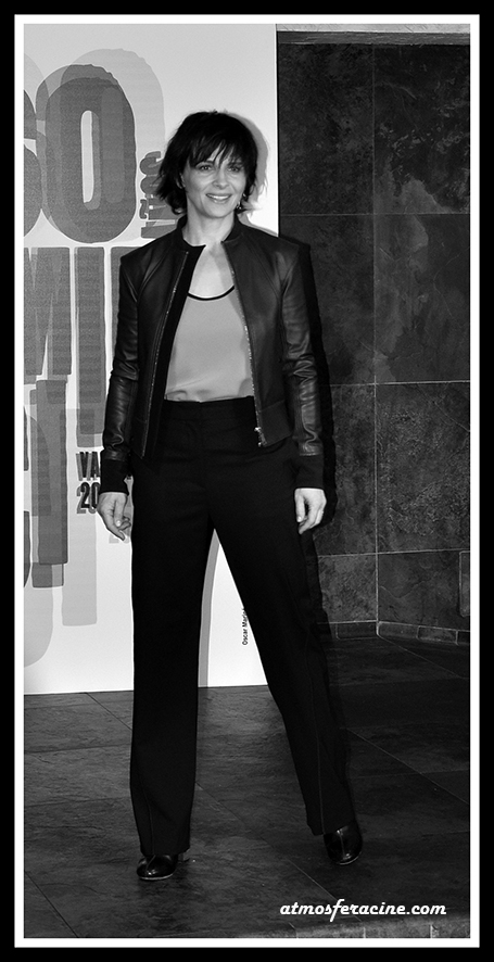 Actriz Juliette Binoche