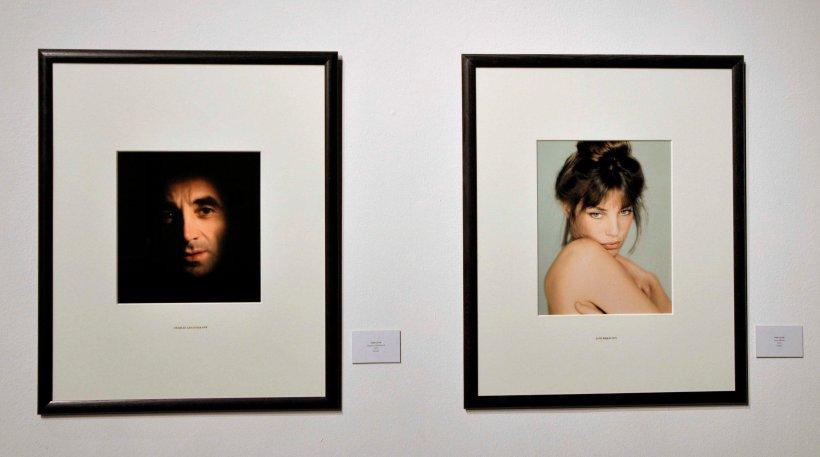 Sam Levin_Exposicion_Charles Aznavour_Jane Birkin_Foto Atmosferacine