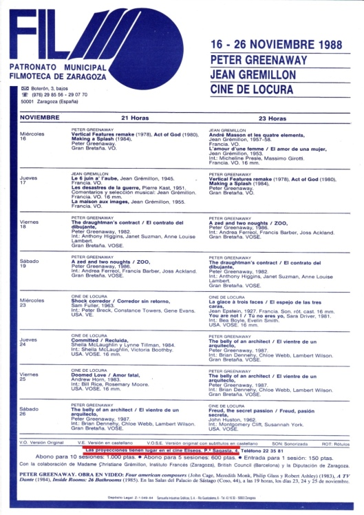 Filmoteca Eliseos-1988-Greenaway-Atmosferacine