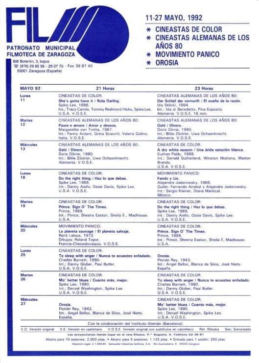 Filmoteca Eliseos-1992-Panico-Orosia-Atmosferacine
