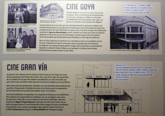 Cines Goya y Gran Via - Zaragoza