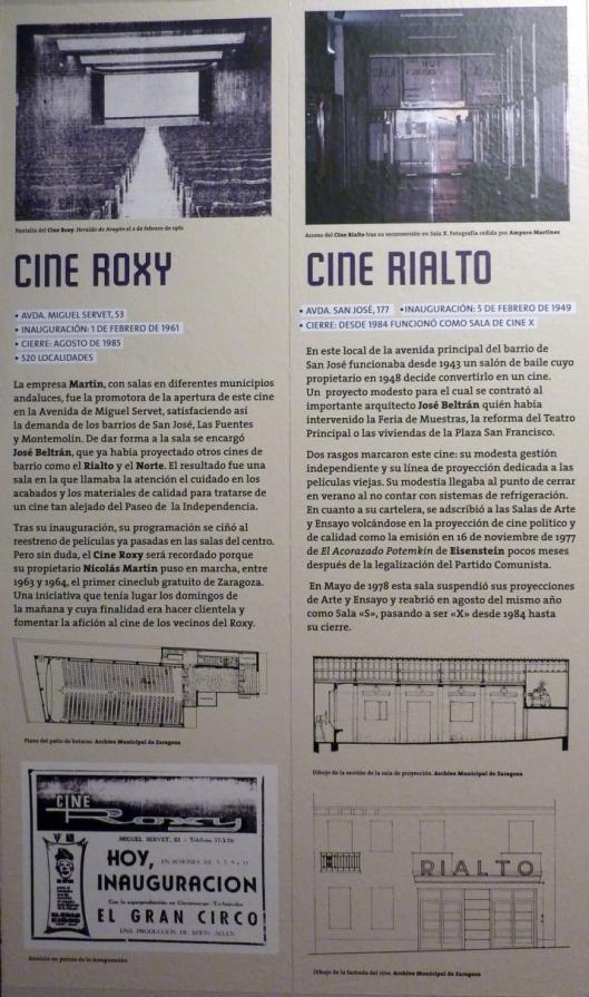 Cines Roxy y Rialto - Zaragoza