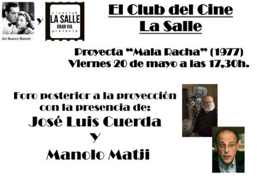 Invitacion_El club del cine_La Salle