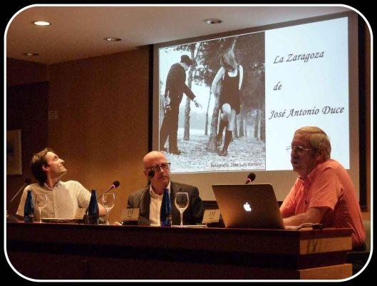La Zaragoza de Duce_Jose Luis Cintora_Ciclo Zaragoza en la memoria_Rafael Castillejo_Inicio