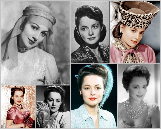 Olivia de Havilland, 100 years, birthday
