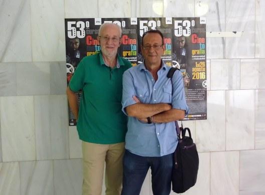 Carlos Heredero_Antonio Santamarina_Valladolid_Curso Cines_Foto Atmosferacine