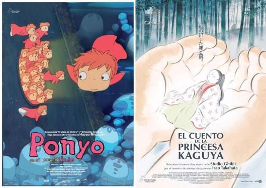 Estudio Ghibli_Ponyo_Princess Kaguya