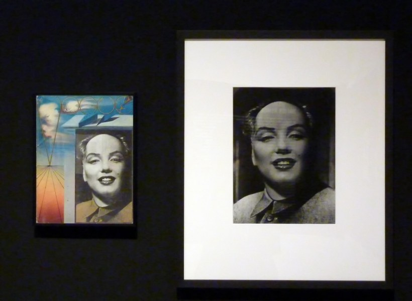 Halsman_Marilyn Monroe_Mao_Dali_Vogue_Caixaforum