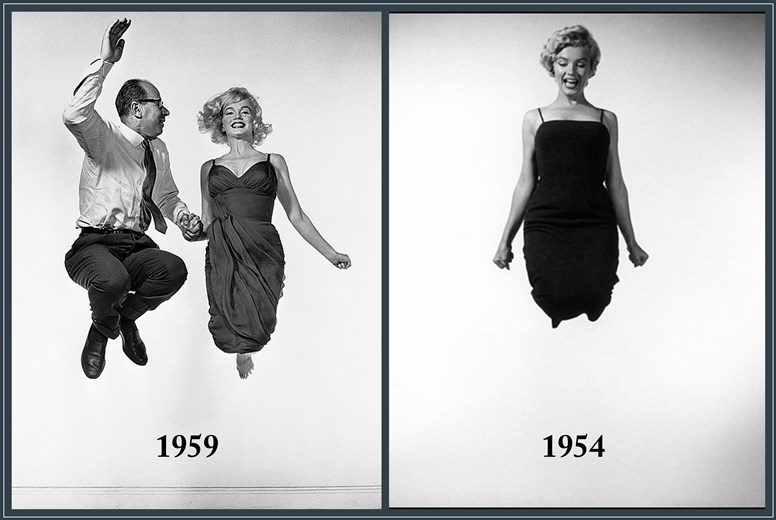 Philippe Halsman_Marilyn Monroe_Jumpology