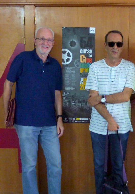 Carlos Heredero_Antonio Santamarina_Curso Cine Universidad Valladolid_Foto Atmosferacine