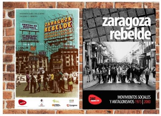 Zaragoza Rebelde_Libro_Exposición