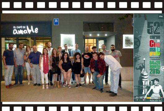 Curso Cine_Universidad Valladolid_Agosto_Fin de curso