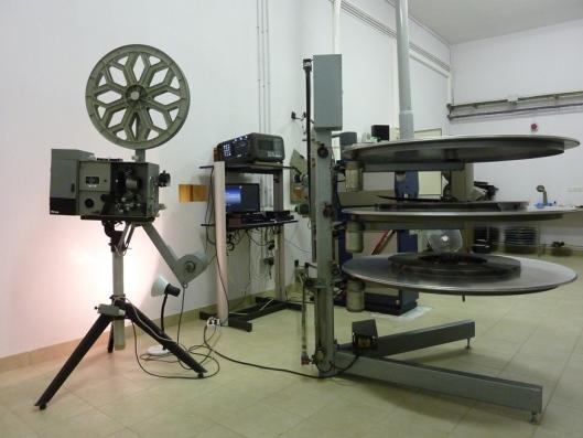 Curso Cine_Universidad Valladolid_Aula Mergelina_Sala proyectores