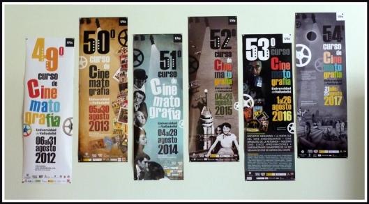 Carteles Curso Cine Valladolid