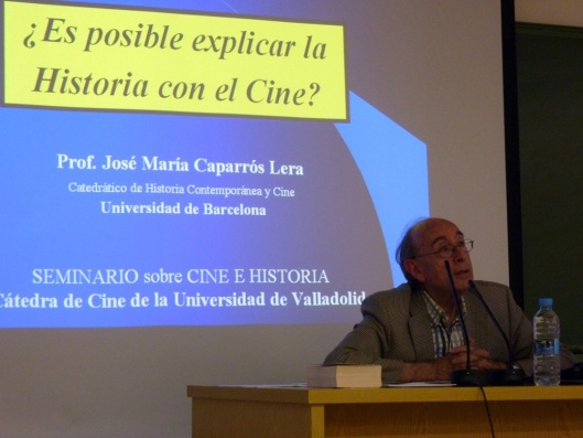 Curso Cine Valladolid_UVA_Jose María Caparrós