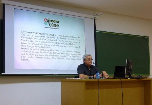 Curso Cine_Universidad Valladolid_Antonio Weinrichter