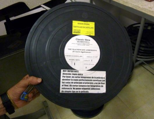 Rollo cine_Curso Cine Universidad Valladolid_El cuarto mandamiento_Largometraje Orson Welles