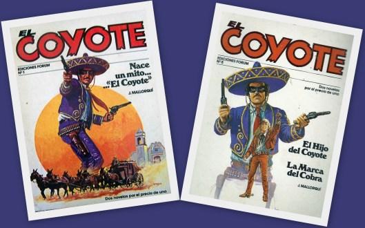El Coyote_José Mallorquí_Western_España
