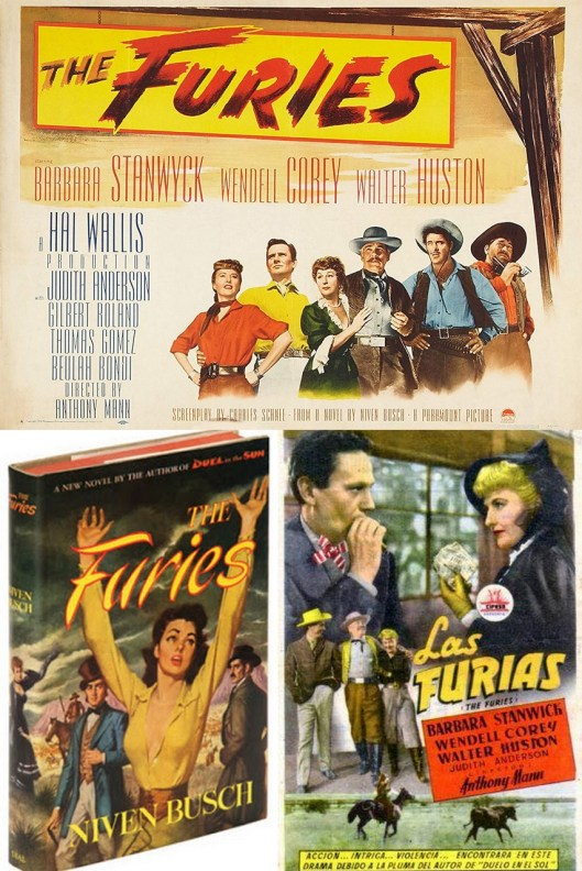 The furies_Libro Niven Busch_Anthony Mann