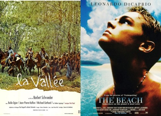 The beach_La Vallee_Filmes_Utopia y Cine_Libro_Antonio Santos