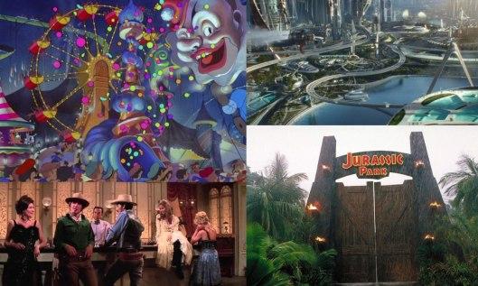 Parques temáticos en el cine-Libro Tierras de ningún lugar_Utopía y Cine