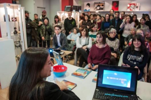 Mujeres de Ghibli_Anna Junyent_Diábolo Ediciones_La Ventana Indiscreta_Presentación_2018